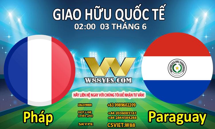 Pháp vs Paraguay (2-06)